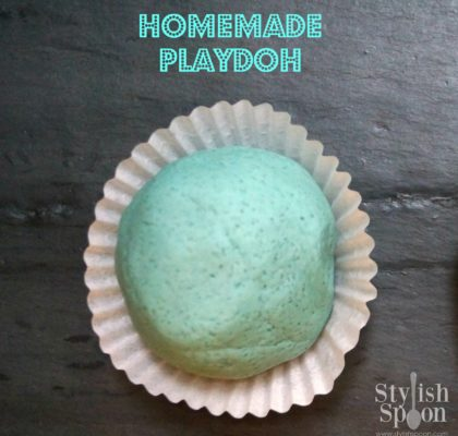 homemade playdoh playdough