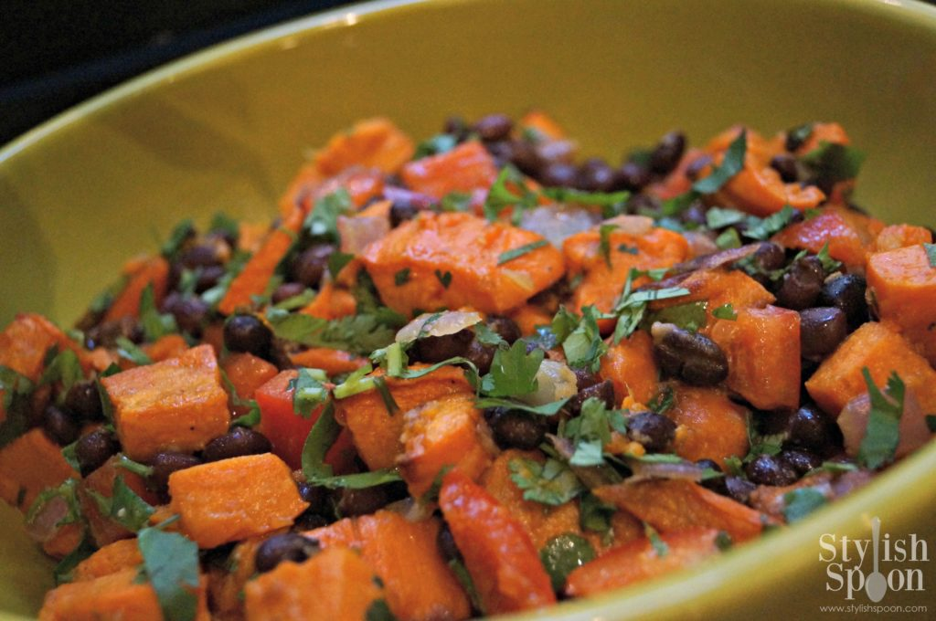 sweet potato and black bean salad