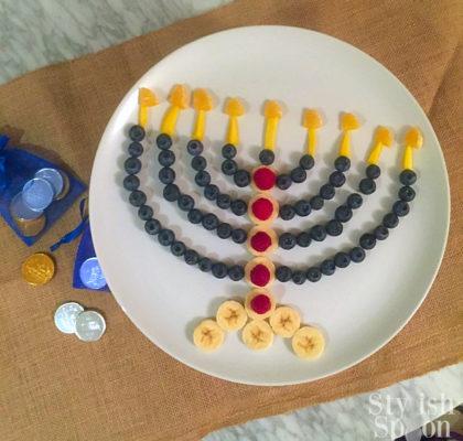 healthy hanukkah desert