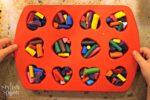 Heart Shaped Crayons