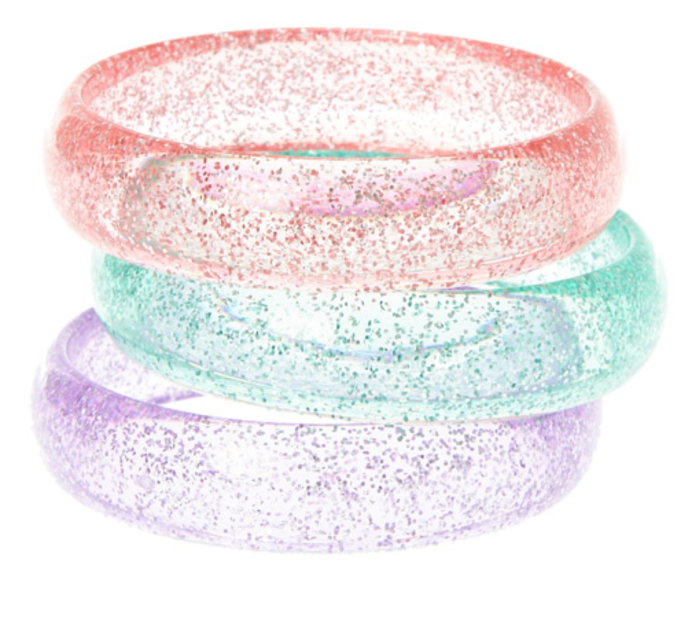 Sparkly Bangle Bracelets for girls