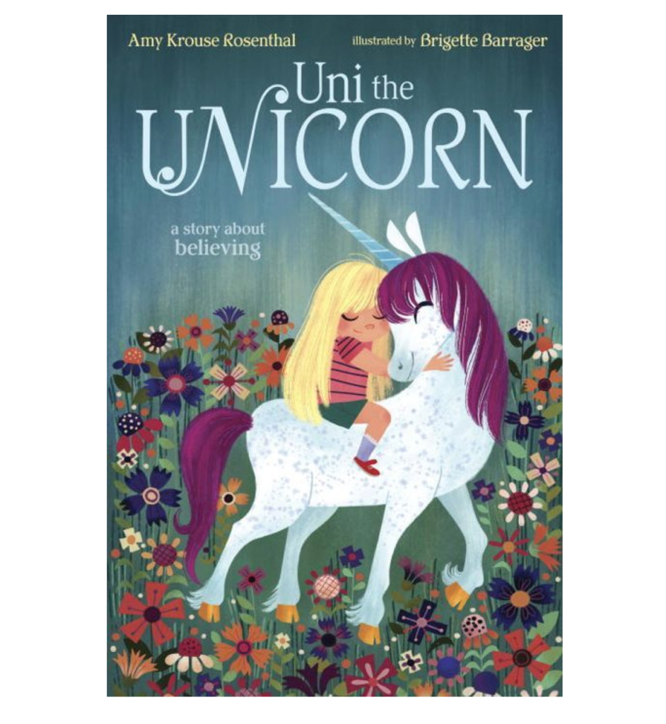 We love reading before bed and Uni the Unicorn that I picked up at the school book fare will be a nice addition to the kids' library.
