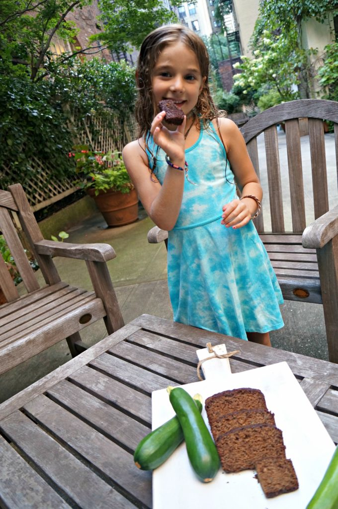 Scarlett with Zucchini Bread