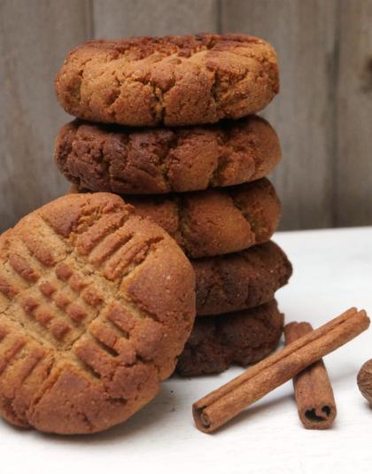 Gluten-free, grain-free, vegan cookies