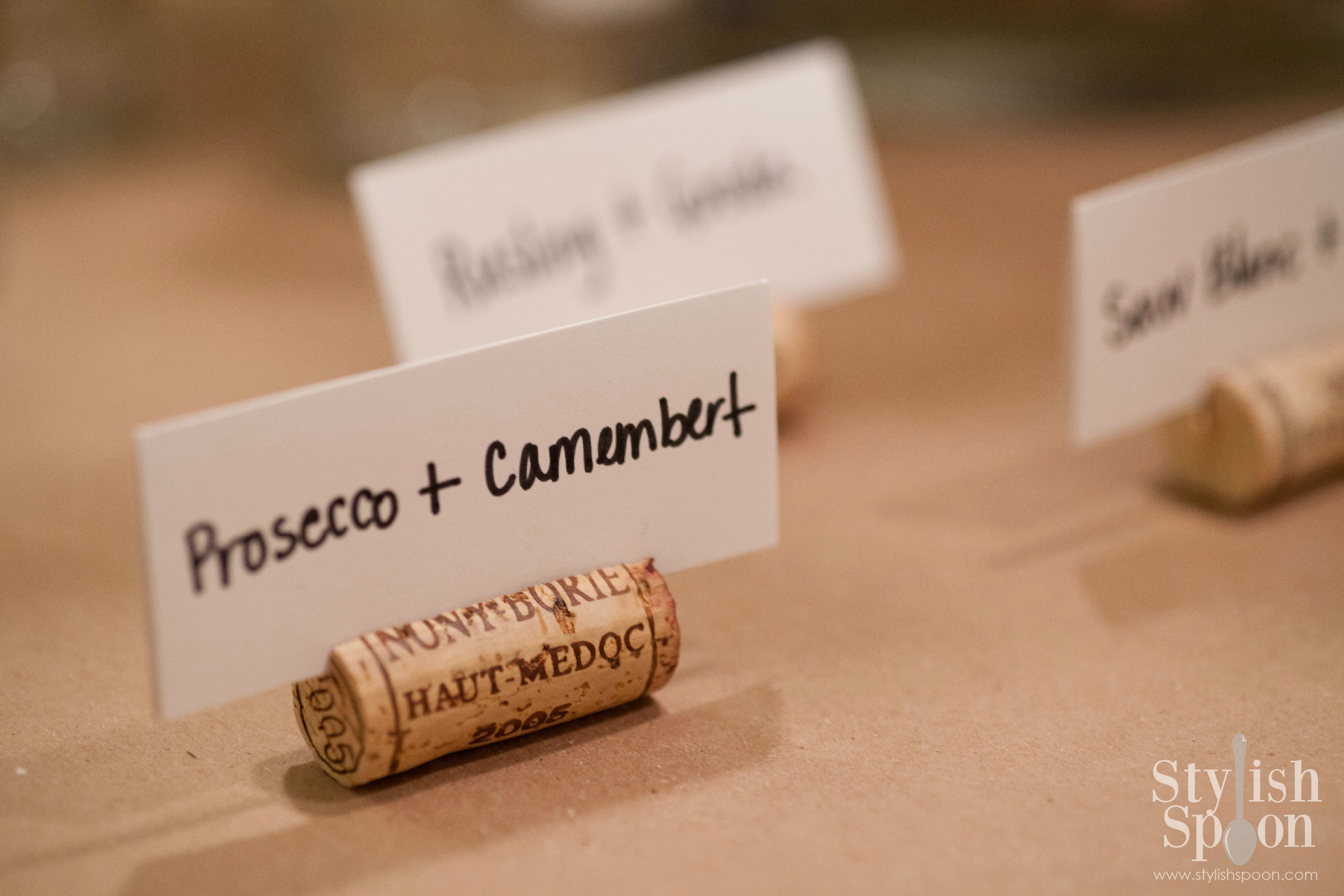 Diy Wine Cork Place Card Holders Stylish Spoon