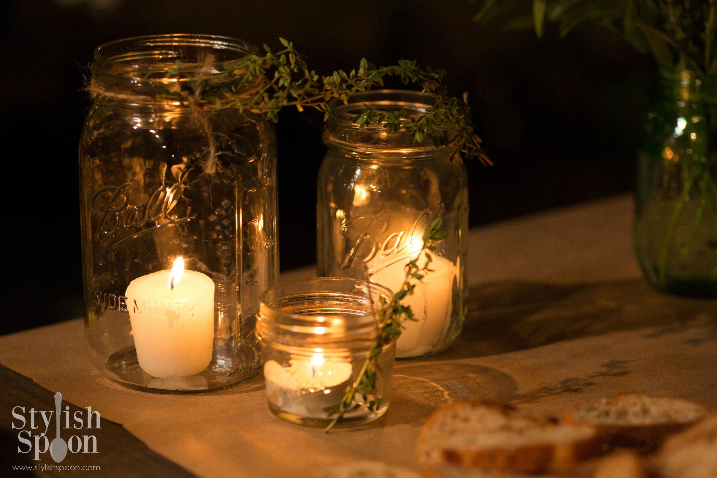 Mason Jar Christmas Lights